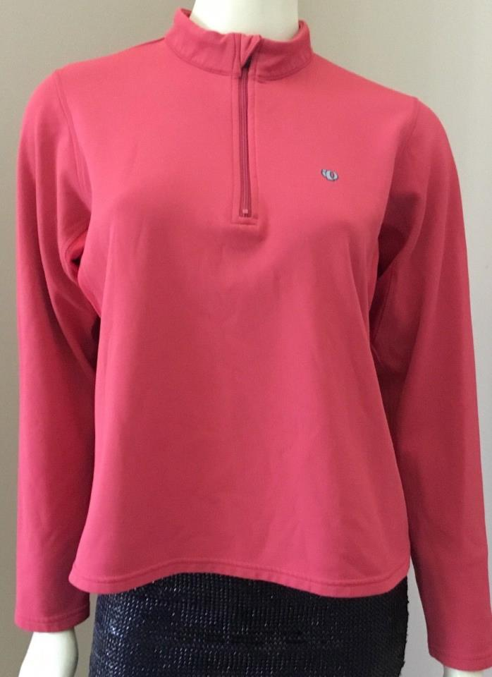 Womens Pearl iZumi Thermal 1/2 Zip Pullover Top Running Cycling Yoga Fitness M