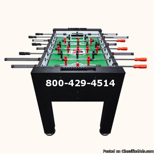 Best built foosball table on the planet