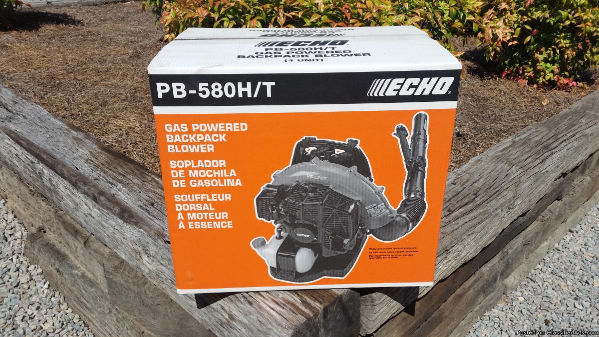 NIB Echo PB-580T Backpack Blower