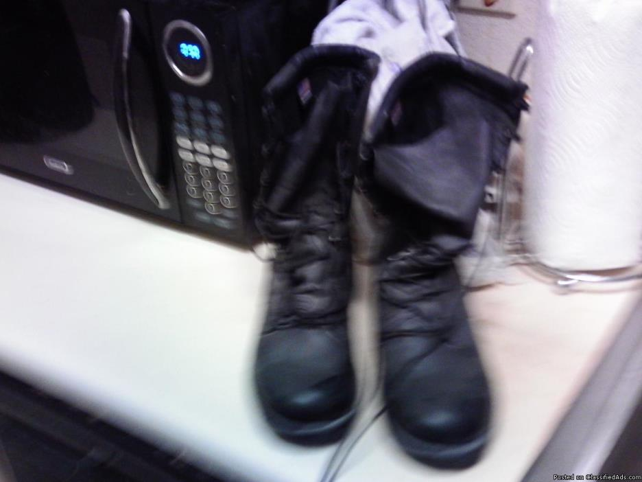 2 Pair Combat or Hunting Boots