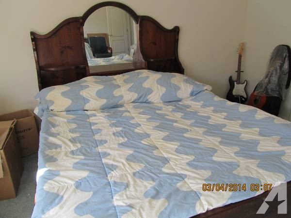 California King Water Bed -