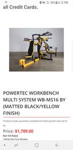 Power Tec work bench (Dectur)