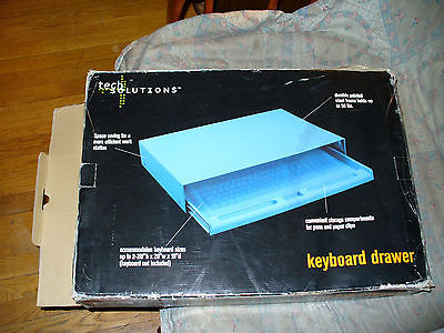 Vintage Tech Solutions Keyboard Drawer. New!