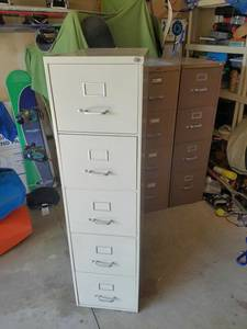 Tall 5 Drawer File Cabinet (Roy, Utah)