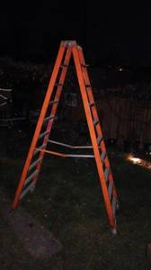 10 Ft Werner Fiberglass Ladder (Denver)