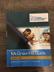 English 101 Mc-Graw Hill Guide Mesa Community College Book