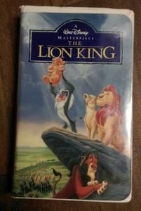 Disney's The Lion King VHS tape (Black Diamond Classic) (Las Vegas)