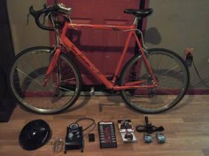 $350 RED 57cm TONINO LAMBORGHINI ROAD BIKE (Downtown Atlanta)