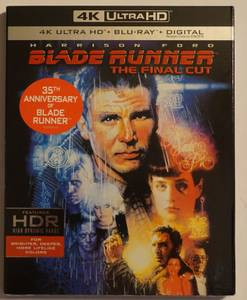 Blade Runner (1982) 4K Blu/Blu/Digital (Brand New) (nw columbus)