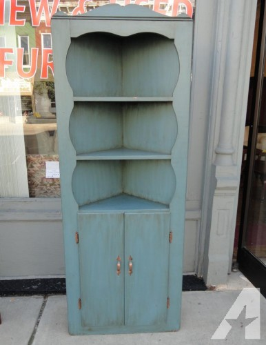 Nice CORNER CUPBOARD - $85 (ODDS & ENDS Furniture ~ JACKSON, OH)