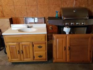 Bathroom Lavatory and Medicine Cabinet (Mt Vernon)