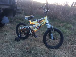 Jeep kids bike