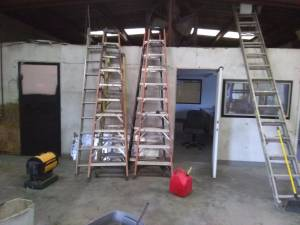 ladders for sale or trade!!! ($175)(Each)(or trade what you got?) (Princeton)