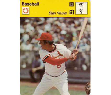 Stan Musial 1977 Sportcaster