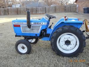 Iseki Tu 2100 Diesel Tractor Runs Great (Okc)
