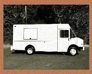 food truck a 1998 good condition gas engine 14ft