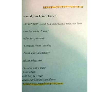 Housecleaning service