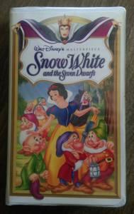 Disney's Snow White VHS tape - Classic Collection (Las Vegas)