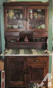 antique kitchen cupboard/cabinet - $500 (Greenfield)