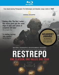 Restrepo (Blu-ray Disc, 2010) NATIONAL GEOGRAPHIC SUNDANCE WINNER (South