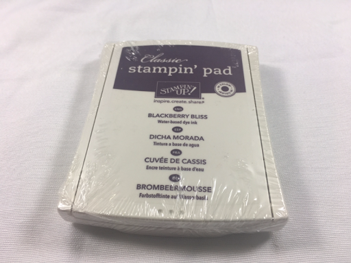 Stampin Up Blackberry Bliss Stamp Pad *NEW* sealed