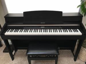 Casio Celviano AP620 digital piano and bench (Lake Zurich)