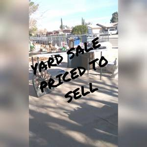 EASTSIDE YARD SALE (Near George dieter)