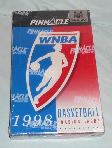 1998 Wnba Pinnacle Trading Cards New Box