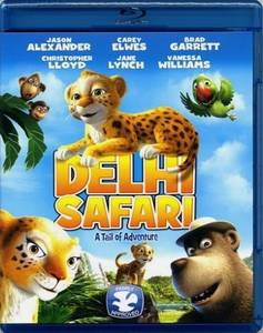 Delhi Safari [Blu-Ray+ DVD (South Pasadena)