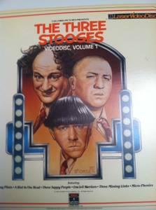3 stooges video disc