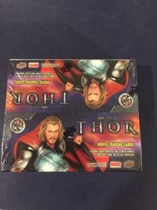 Thor trading card box from original movie. Marvel. Avengers (Blacklick)