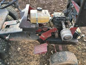 Sears lawn tractor frame w/o engine - very unique (Winder GA)