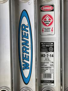 Werner 14 Ft Folding Ladder (Valencia)