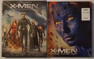 Blu-rays X-Men Trilogy and X-Men (nw columbus)