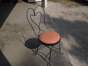 Ice Cream Parlor Chair (Rutland)