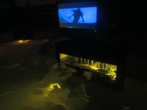 HOT TUB - Mini Swim Spa : w/T.V., DvD, Stereo, Cd , Speakers (FORT WAYNE)