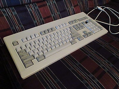 NMB RT8255C+ AQ6-OAKZ15 Clicky Mechanical Keyboard VINTAGE -