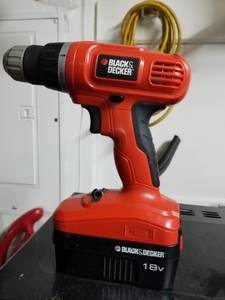 Black and Decker cordless drill (Bonanza and Hollywood)