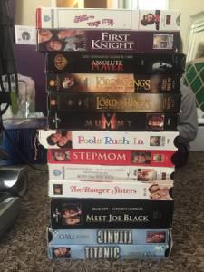 VHS movies (Henderson Nv)