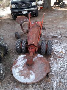 Gravely l tractor (Logan)