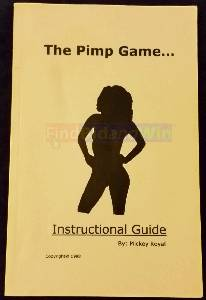 The Pimp Game... Instructional Guide - Mint Condition/Rare/OOP (West Hollywood)