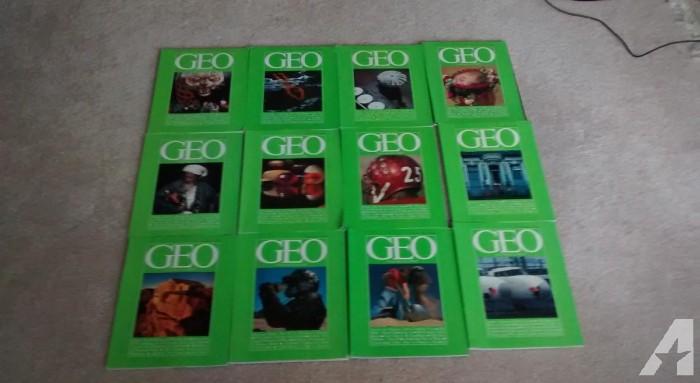 Geo Magazine Issues + Poster