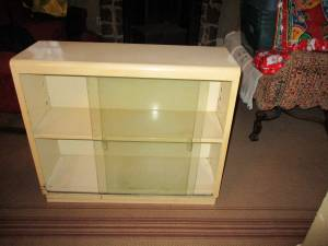 Book Shelves - Industrial Style w/ Sliding Glass Doors (Wauwatosa)