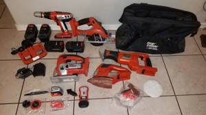 Black and Decker Firestorm 18V Tool Set (Vail)