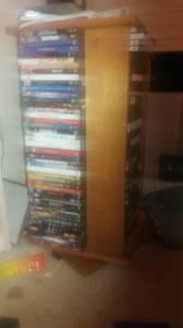 Wooden dvd holder (Garner)