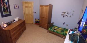 3 Piece Crib/Toddler Bedroom Set