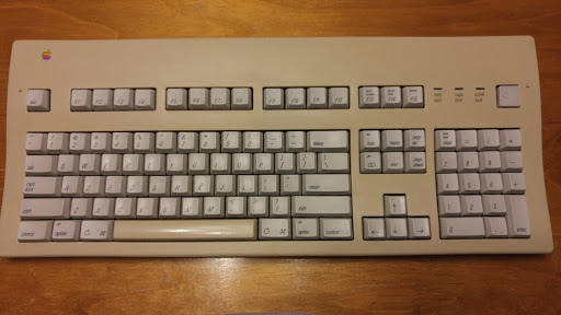 Apple Extended Keyboard II 2 M3501 CLICK MODDED Cream ALPS