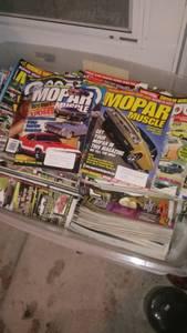 Mopar magazines (Plymouth)