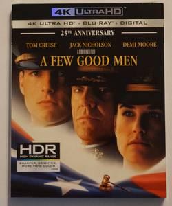 A Few Good Men 4K/Blu-ray/Digital (Brand New) (nw columbus)