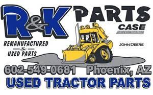Backhoe Case Tractor Parts (ogden)